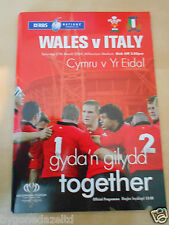 Wales v Italy. Rugby Union. 27th March 2014 RBS Six Nations Programme