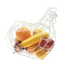 Large Fruit Rack Wire Mesh Chicken Shaped