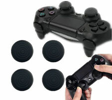NEW 4X Black Silicone Gel Thumb Grips For PS4 /PS3 /Xbox 360 /XboxOne Controller