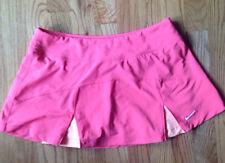 Womens Nike Dri-Fit Tennis Skirt/Skort Bright Peach/Orange W/ accents Size S