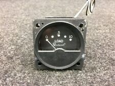 Beech E-55 Baron Aircraft Inst. Loadmeter Indicator Lighted 28V P/N 96-384053-11