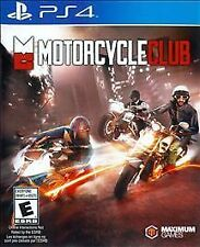 PLAYSTATION 4 PS4 GAME MOTORCYCLE CLUB BRAND NEW & FACTORY SEALED