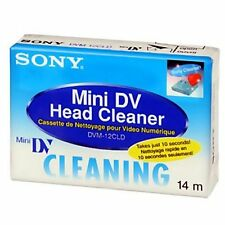 1 Sony Mini DV DVC head cleaning cassette for JVC GR DVL980U DVM5U DVM55U DVM70U