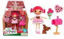 Mini Lalaloopsy Toffee Cocoa Cuddles 3 inch Doll and Pet #8 of Series 6 NEW