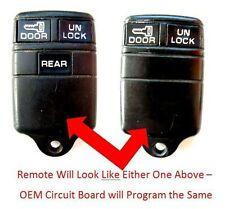 1994 1995 1996 GMC Sonoma keyless entry transmitter key FOB PHOB OEM clicker