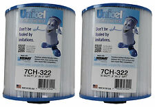 2) New Unicel 7CH-322 Replacement Spa Filter Cartridges 32 Sq Ft PAS35-2 FC-0420