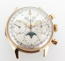 Rare Tourneau Datofix 386 Mens Triple Calendar Moon Phase C. Val 88 Watch