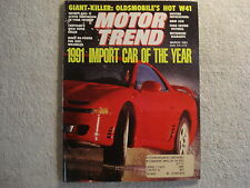 Motor Trend 1991 March Ford Crown Vic BMW Jeep Pontiac Sunbird Infiniti Q45