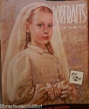 PORTRAITS And how to do them Stella Mackie Walter T Foster Publication Arte di e