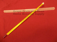 Lab Thermometer, Beer and Wine Thermometer,General Purpose Lab Glass Thermometer