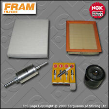 SERVICE KIT FORD FUSION 1.4 16V FRAM OIL AIR FUEL CABIN FILTER PLUGS (2002-2012)
