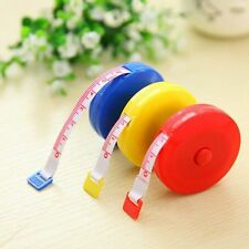"""60"""" 150CM Sewing Tailor Craft Flat Tape Body Measure Dieting Ruler+Case 1.5M"""