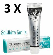 3 x Opalescence Whitening Toothpaste Flouride 133g Sensitivity Relief Cool Mint