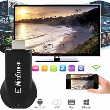 Wireless MiraScreen HD 1080P HDMI WiFi Display Miracast TV Dongle DLNA Airplay