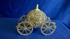 JULIANA TREASURED TRINKETS RUSSIAN IMPERIAL CRYSTAL CARRIAGE TRINKET BOX 15373