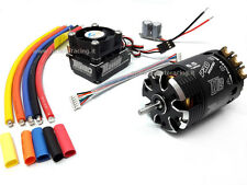 COMBO ROCKET BRUSHLESS SENSORI MOTORE 540 6.5T + REGOLATORE 120A TURBO MODIFIED