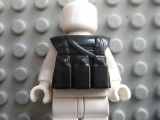Custom TACTICAL VEST Military SWAT for Lego Minifigures -Black-