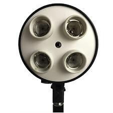 Illuminatore Portalampada SLH3 4in1 con attacco quadruplo E27 per Luci e Flash
