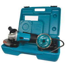 "Makita GA4530RKD 110v 115mm 4.1/2"" Angle Grinder + Case & Diamond Blade GA4530KD"