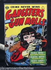 "Gangsters and Gun Molls #4 Comic Book 2"" x 3"" Fridge / Locker Magnet."