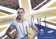 Vicky Pendleton: OLYMPIA 2012+2008 GOLD CICLISMO GBR