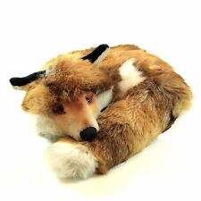 Steiff Stuffed Fox Doll Toy Ringel Fuzzy