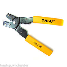 TU-202B Crimping Press Pliers Tools Wire Cutter Cutting Pliers Electricians Tool