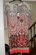 M&CO BATWING STYLE TOP WITH BELT SIZE 10 BRAND NEW WITH LABELS