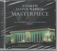 Andrew Lloyd Webber Masterpiece Live from the Great Hall CD NUOVO Elaine Paige