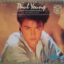 Paul Young 12'' Love Of The Common People (Extended Club Mix) - Holland