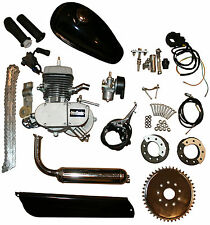Motorised Bicycle Cycle Petrol Gas Engine Motor Kit 80cc 2 Stroke Pedal Start 2T
