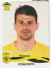 N°035 RONALDO #  BRAZIL ARIS SALONIKI STICKER PANINI GREEK GREECE LEAGUE 2010
