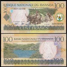 Rwanda 100 FRANCS 1.5.2003 P 29a UNC