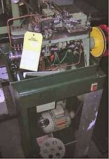 Fico Type Curb Style Cable Chain Making Machine - Tooled for single cable chain