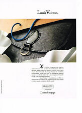 PUBLICITE ADVERTISING 094  1990  LOUIS VUITTON  sacs  malles bagages