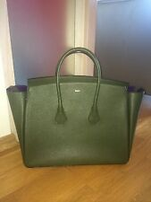 Bally Sommet large tote, sold out  $2000, green with purple interior, NEW!