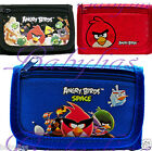 Angry Birds / Red / Blue Tri-Fold Wallet / Official Licensed Rovio Entertainment