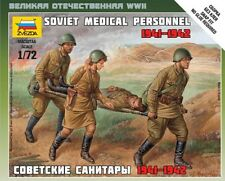6152 SOVIET MEDICAL PERSONNEL 1941-1942 - ZVEZDA  1/72 - WW2 RUSSIAN USSR