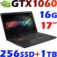 """Asus ROG STRIX GL702VM Quad i7-6700HQ 16GB 256GB SSD+1TB GTX1060-6GB 17.3"""""""