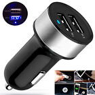 UNIVERSAL 2 PORTS USB 12V DUAL CAR CHARGER CIGARETTE SOCKET LIGHTER For iPhone