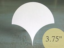 "120 Clamshells 3-3/4"" HIVE PAPER PIECES English Paper Piecing EPP Quilt Template"