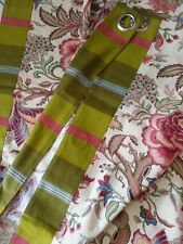 AL TELO occhioli ASCOTT tessuto stoffa tenda scampolo cotone FLOREALE pannello