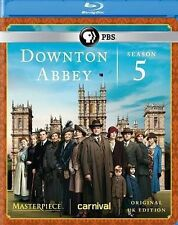 Masterpiece: Downton Abbey - Season 5 (Blu-ray Disc, 2015, 3-Disc Set)