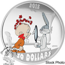 Canada 2015 $30 Looney Tunes™Classic Scenes: The Rabbit of Seville Silver Coin