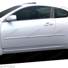 For: NISSAN ALTIMA Coupe 2 DOOR; PAINTED Body Side Mouldings Moldings 2008-2014