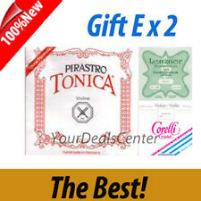 Tonica Violin String Set Steel E Ball/ Gift E x 2