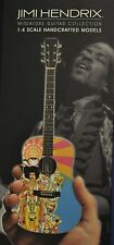 JIMI HENDRIX AXIS BOLD AS LOVE ACOUSTIC MINIATURE GUITAR & STAND BY AXE HEAVEN