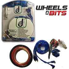 8 Gauge amp amplifier wiring installation kit  for speakers or subs subwoofer