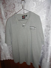 MEN'S GRAY 2003 HARLEY DAVIDSON POLO SHIRT FROM SCOTTSDALE, AZ -SIZE LARGE