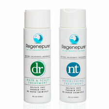 RegenePure Hair Loss Treatment System Hair & Scalp Set Deluxe DR and NT Full Set